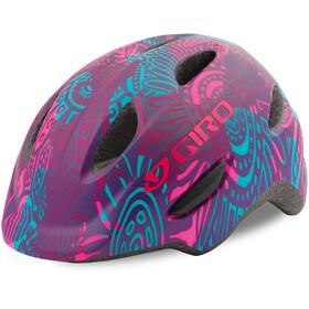 Giro Scamp casco per bici Bambino viola/colorato